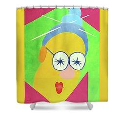 Mrs. Strangefellow Shower Curtain