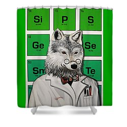 Mr.tulamordue Shower Curtain by Jude Labuszewski