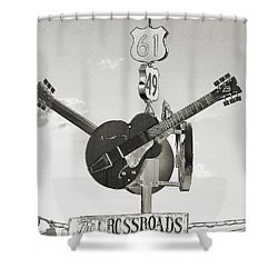 Ms Crossroads Shower Curtain