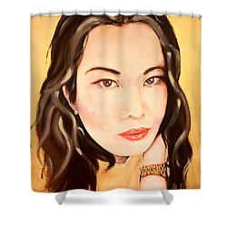 Ms Lim Shower Curtain
