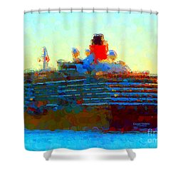 Ms. Queen Victoria Shower Curtain by Gerhardt Isringhaus