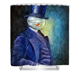 Mssr. Fishhead Shower Curtain