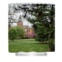 Msu Campus Spring  Shower Curtain by John McGraw