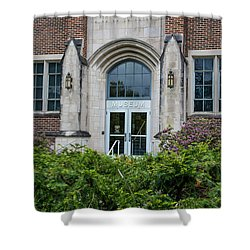 Msu Museum  Shower Curtain by John McGraw
