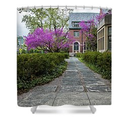 Msu Spring 13 Shower Curtain by John McGraw