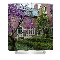 Msu Spring 9 Shower Curtain by John McGraw
