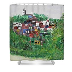 Mt. Adams  Cincinnati Ohio Shower Curtain