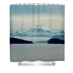 Mt. Baker Washington Shower Curtain