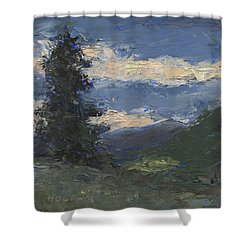 Mt Baldy Shower Curtain