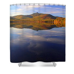 Mt. Chocorua In Blue Shower Curtain