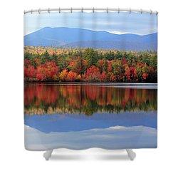Mt. Chocorua Reflections I Shower Curtain by Lynne Guimond Sabean