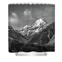 Mt Cook Wilderness Shower Curtain