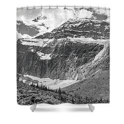 Mt. Edith Cavell Shower Curtain