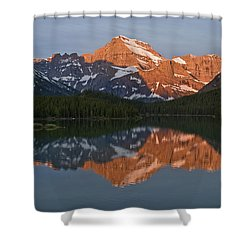 Shower Curtain featuring the photograph Mt. Gould by Gary Lengyel