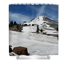 Mt. Hood In June Shower Curtain