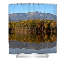 Mt Katahdin Baxter State Park Fall 1 Shower Curtain