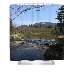 Mt. Katahdin Shower Curtain