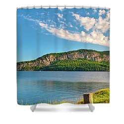 Mt Kineo 1504 Shower Curtain