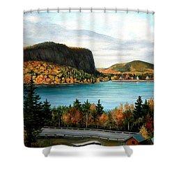 Mt. Kineo, Rockwood, Maine Shower Curtain