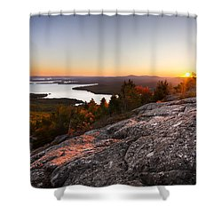 Mt. Major Summit Shower Curtain
