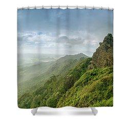 Mt Manaia Shower Curtain