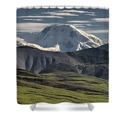 Shower Curtain featuring the photograph Mt. Mather by Gary Lengyel