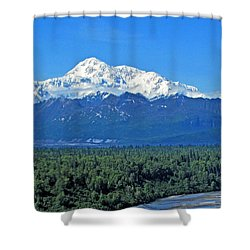 Denali, Aka Mt. Mckinley  Shower Curtain