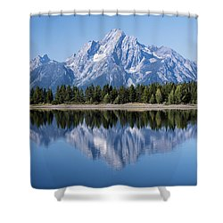 Mt. Moran Grand Tetons Shower Curtain