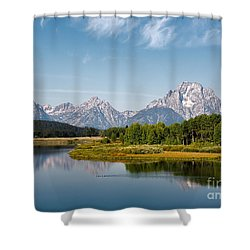 Mt Moran Shower Curtain