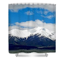 Mt. Princeton Colorado Shower Curtain