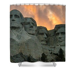 Mt. Rushmore Shower Curtain