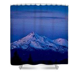 Mt Shasta At Sunrise Shower Curtain