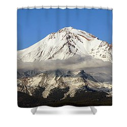 Shower Curtain featuring the photograph Mt. Shasta Summit by Holly Ethan