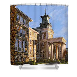 Mt St.mary Academy Shower Curtain by Guido Borelli