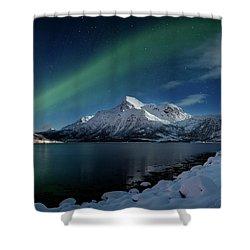 Mt Stortinden Shower Curtain