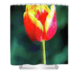 Mt Vernon Tulip Shower Curtain