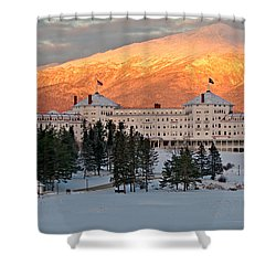Mt. Washinton Hotel Shower Curtain