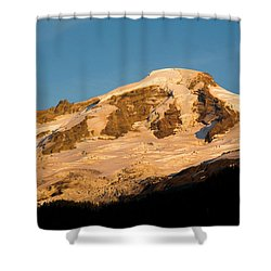 Mt.baker At Sunset  Shower Curtain