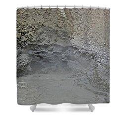 Mud Volcano Yellowstone 3 Shower Curtain