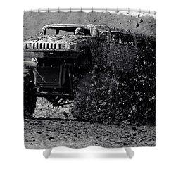 Mudder Shower Curtain