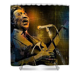 Muddy Waters Shower Curtain by Paul Sachtleben