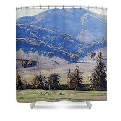 Mudgee Hills Shower Curtain