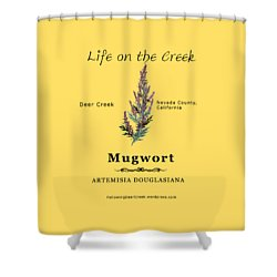 Mugwort Shower Curtain