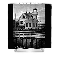 Shower Curtain featuring the photograph Mukilteo Lighthouse by Elf Evans