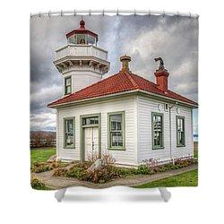 Mukilteo Lighthouse Shower Curtain