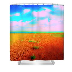 Mulberry Land Shower Curtain by Jan W Faul