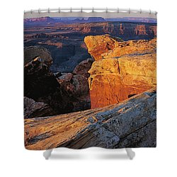 Muley Point Sunrise Shower Curtain
