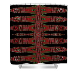 Multi Design Two Shower Curtain