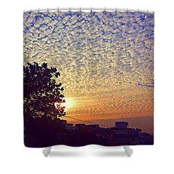 Multicoloured Sky Shower Curtain