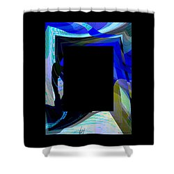Multidimension Shower Curtain by Thibault Toussaint